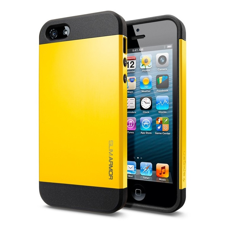 ide-home Store - SPIGEN SGP iPhone 5 Case Slim Armor Color - Reventon Yellow, $29.95 (http://www.ide-home.com.au/iphone-5/spigen-sgp-iphone-5-case-slim-armor-color-reventon-yellow/)