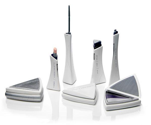 MAC Cosmetics + Virgin Galactic on Packaging Design Served