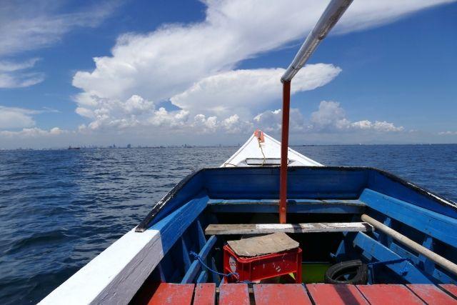Makassa, Pulau Samalona, 30 Minuten Bootsfahrt