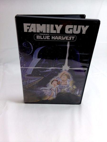 Family Guy Presents Blue Harvest DVD Movie ( Star Wars spoof )