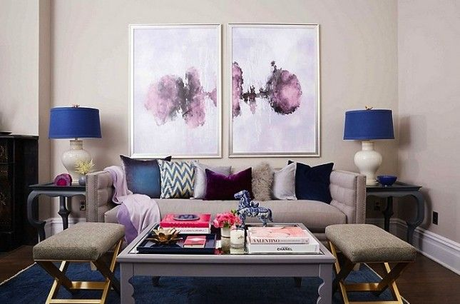 How to Combine Warm + Cool Colors like an Expert in Your Home via Brit + Co.