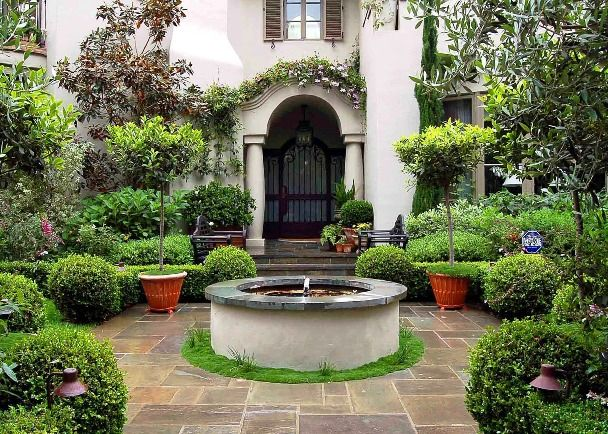 7 Best Images About Mediterranean Landscaping Ideas On Pinterest