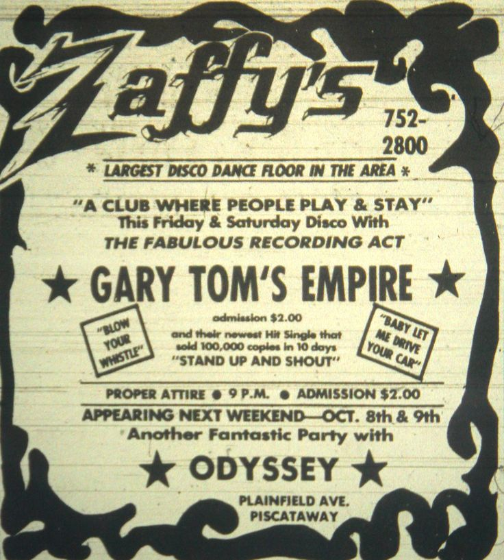 Zaffy S Ad In Piscataway Nj 1979 Vintage Middlesex