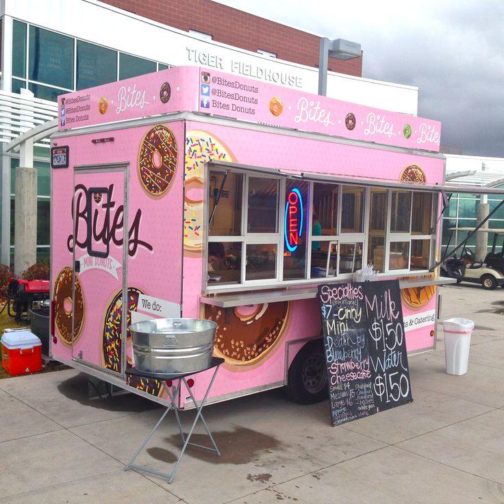 The original Bites Mini Donuts food truck trailer located in St. George, UT.  Instagram - @BitesDonuts Twitter - @BitesDonuts Facebook - Bites Donuts