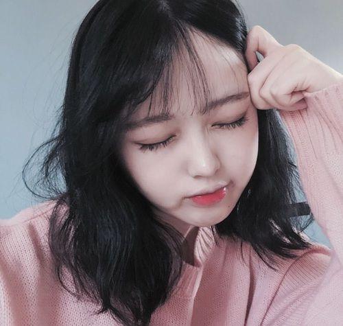 korea, girl, and heart image