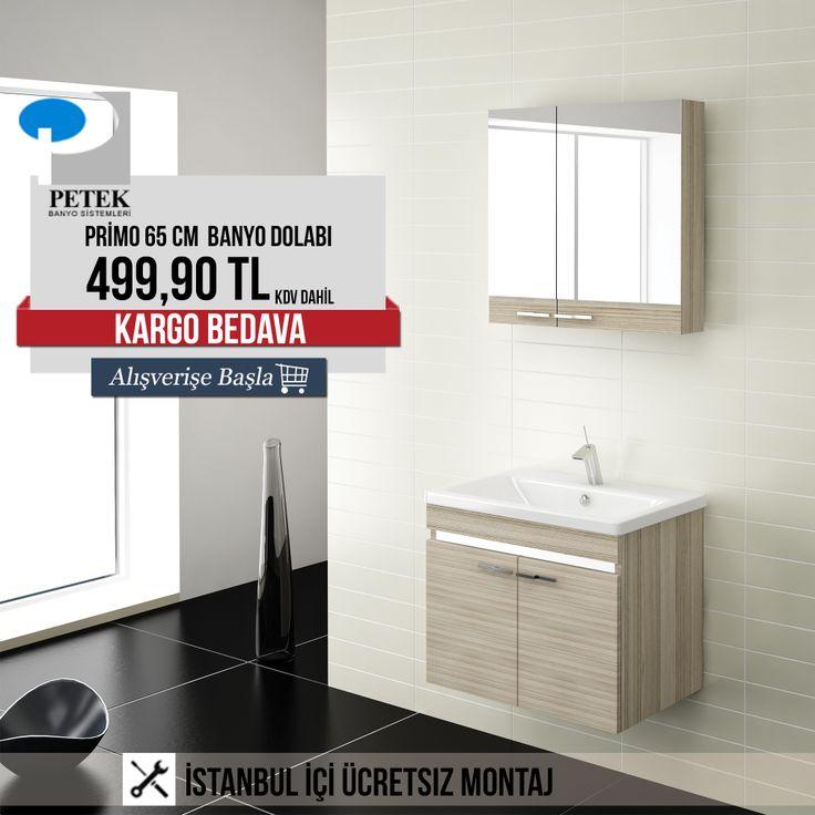 Petek Primo 65 cm Banyo Dolabı 499,90 TL KDV Dahil! Üstelik ''Bedava Kargo'' #banyotrendy #banyodekorasyon #banyodolabı #petek #petekbanyo http://www.banyotrendy.com/petek-primo-65-cm-banyo-dolabi-pmu15728