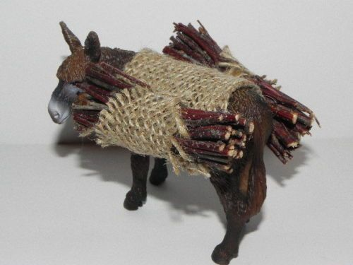 Nativity Pesebre Presepio Animal Donkey Use w Fontanini Figurine | eBay