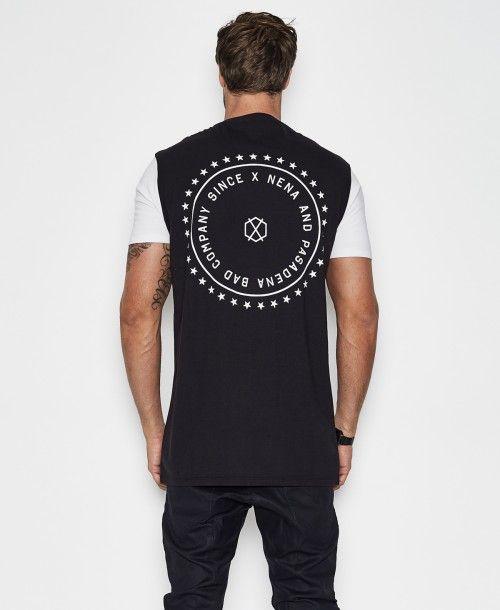 Since X Tall T-Shirt Jet Black