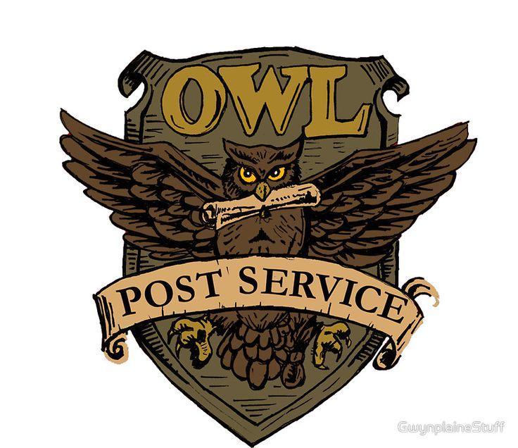 1 PCS Harry Potter Owl Poster Stamp DIY Toy Self Inking ...  Harry Potter Owl Service