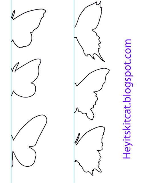 Butterfly Template Darryls Stained Glass Patterns Best Butterfly