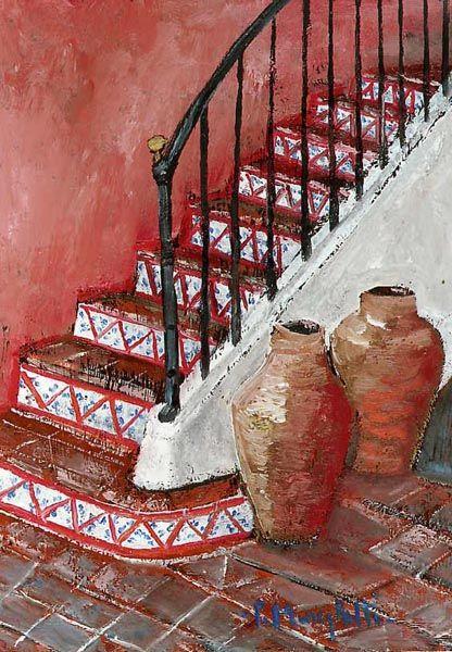 Rustico in Sicilia - olio su tela (18x24 cm)
