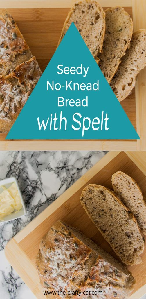 Learn how to make a seedy no-knead bread with spelt that rivals a bakery loaf. This artisan bread is easy to make and requires little hands-on time