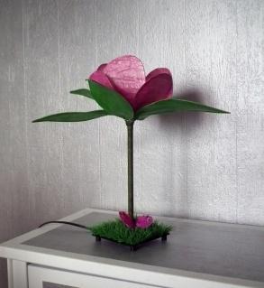 Tuto lampe fleur - DIY Flower light