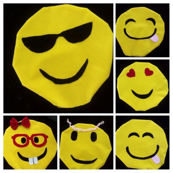 Emoji pillows