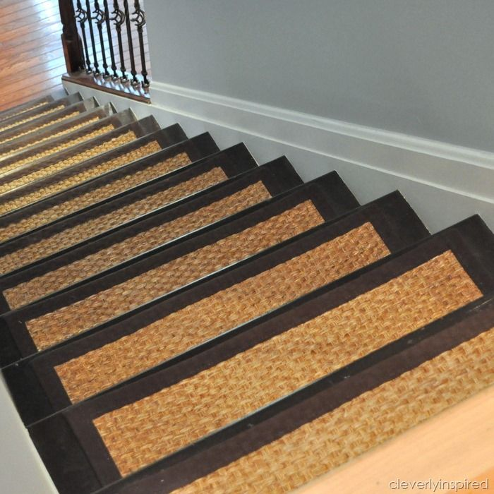 Best Diy Refinished Stairs With Sisal Stair Treads 400 x 300