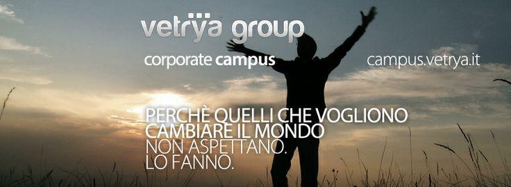 7.000 mq dedicati alle società del Gruppo Vetrya con aree verdi, centro sportivo, spazi dedicati allo svago, work cafè, tech shop e formazione universitaria, all'insegna dell'ecosostenibilità, ricerca e innovazione