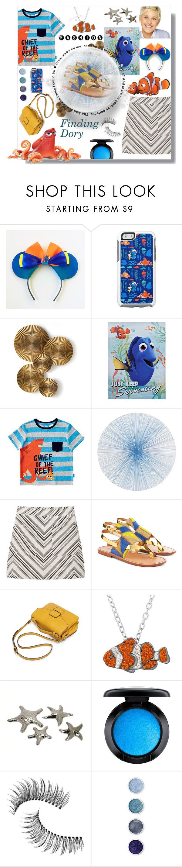 """""""Finding Dory 😍😍😍"""" by madhu-147 ❤ liked on Polyvore featuring OtterBox, Arteriors, Tisch New York, MANGO, Sanchita, Animal Planet, IMAX Corporation, MAC Cosmetics, Trish McEvoy and Terre Mère"""