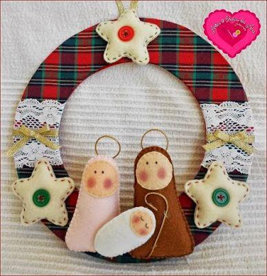 9 Ideas hermosas para hacer nacimientos navideños en miniatura ~ lodijoella