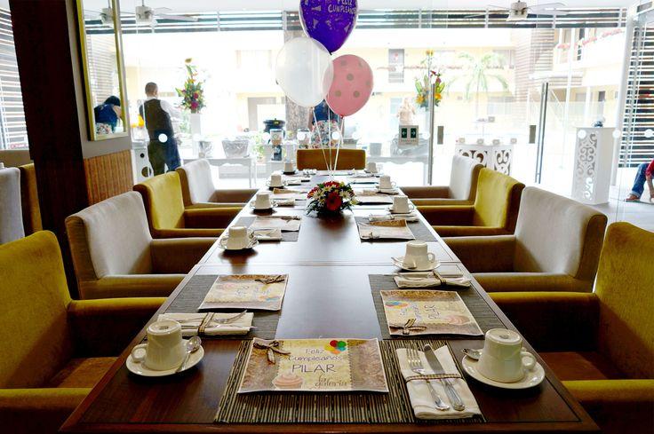 Celebra tus fechas especiales en el Restaurante la Galería y conviértelas en momentos inolvidables, Reserva tu mesa de cumpleaños. Informes al 57 7 5726020 Ext 512 #Cucuta #cumpleaños #Colombia #Fechasespeciales  www.hotelarizonasuites.com