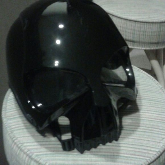 Dot darth vader helmet Basically new. Only worn once Jackets & Coats