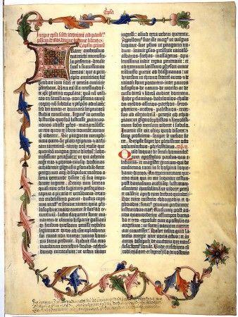 Dnes (23.2.2015) je 560. výročie, kedy začal Johannes Gutenberg hromadnú tlač Biblie