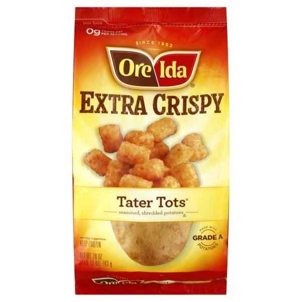 OreIda Extra Crispy Tater Tots @influenster #OreIdaTotchos