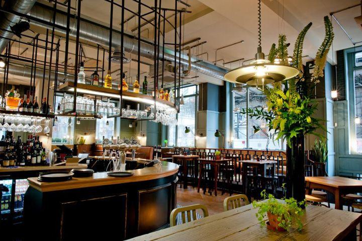 The Tokenhouse restaurant bar by Harrison, London hotels and restaurants