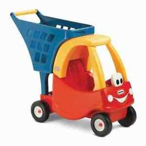 Little Tikes Kids Cozy Coupe Shopping Cart Supermarket trolley Childrens Toy New | eBay