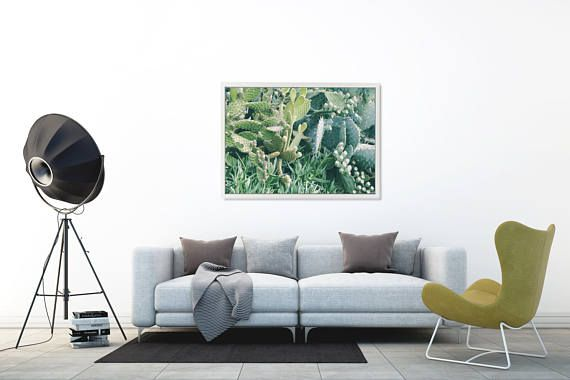 Cactus Instant Download Tropical Print Succulents and Cacti