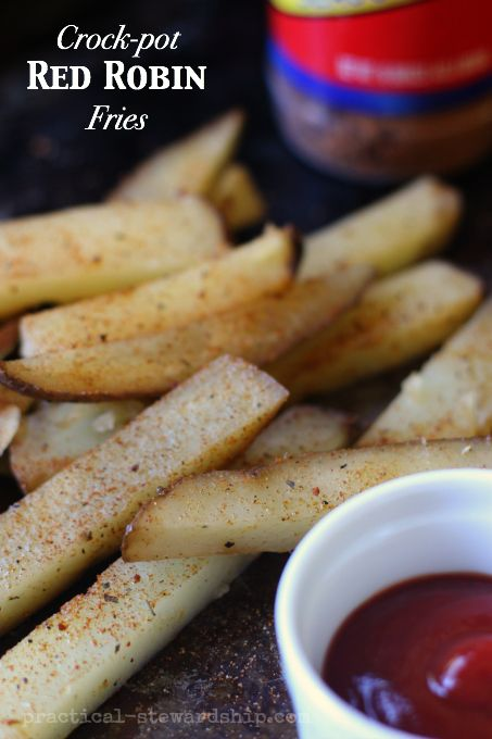 Crock-Pot Copycat Red Robin French Fries-baked opt.