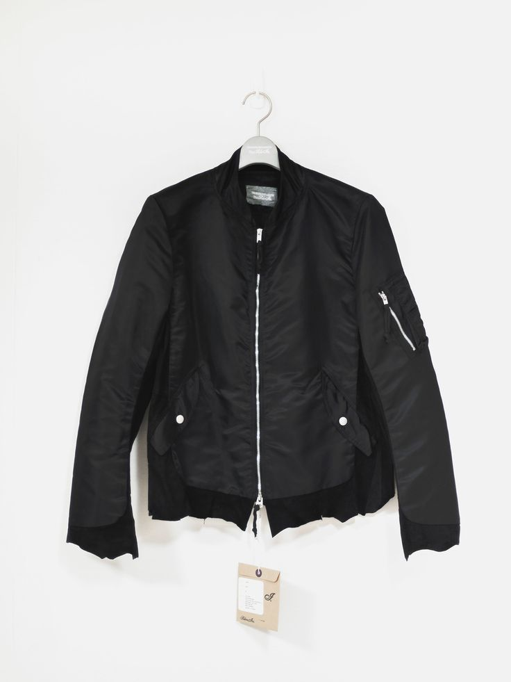 Takahiro Miyashita The Soloist Combo Ma 1 Retro Flight Jacket Size M $675 - Grailed