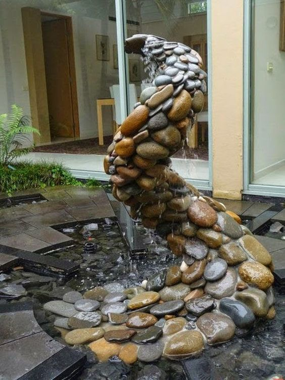 Water feature...just an image