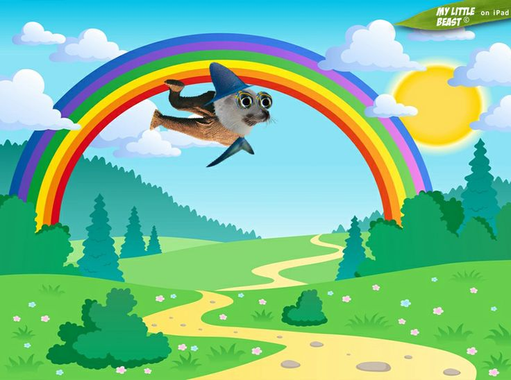 Flying high in the sunshine!  Created with the coooool My Little Beast animal mixer app. Download here: LITE: https://itunes.apple.com/app/id824876886 FULL: https://itunes.apple.com/app/id815685056 Web: http://www.lindenepublishing.com/apps/my-little-beast/  #games, #ipad, #kids, #animals