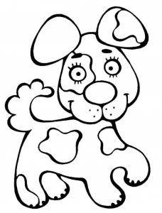 Köpek Boyama Coloring Pages Hayvan Boyama Sayfaları Bebek