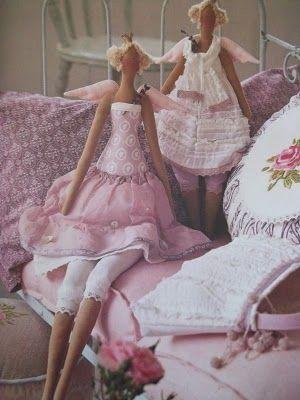Tilda Sew Along Doll Part 1 of 5