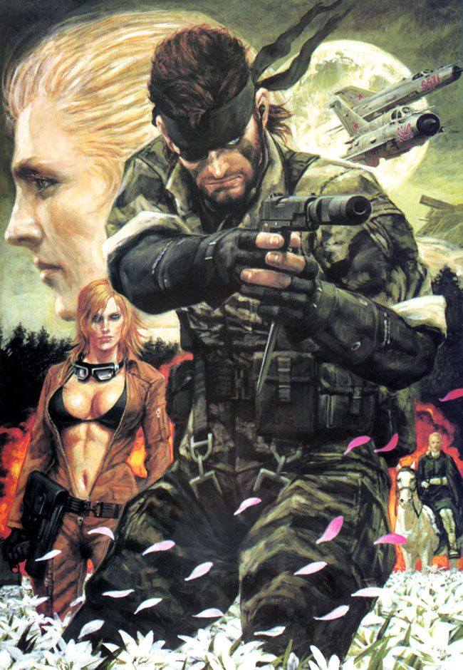 Metal Gear Solid 3: Snake Eater Screen on http://www.majestichorn.com/2012/03/metal-gear-solid-3-snake-eater-screen/
