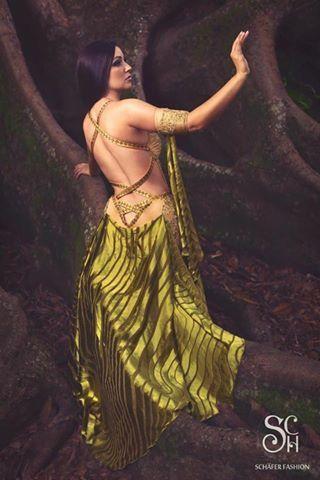 "Olivine Embrace - premium extra ""Rainforest"" collection  #fashion #art #fashiondesigner #bellydance #stage #costume #costumedesigner #highfashion #personaldesigner"