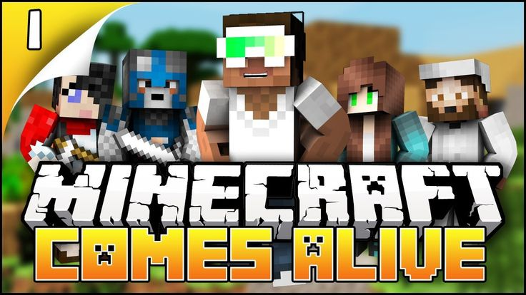 ▶ Minecraft Comes Alive - EP1 - by Biggs87x. #Biggs87x #YouTuber #Gaming #Minecraft