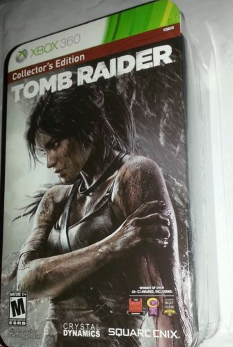 NEW Tomb Raider Survivor Limited Collector Edition in Tin Xbox 360 Mature Game