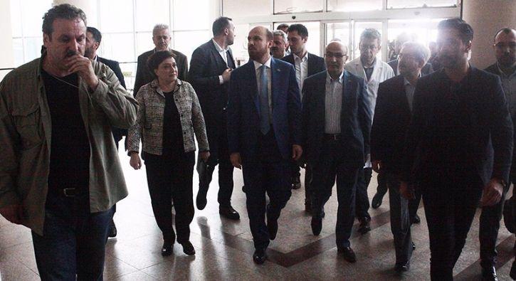 #GÜNDEM Bilal Erdoğan, miting yolunda yaralanan kazazedeleri hastanede ziyaret etti: Türkiye Gençlik Vakfı (TÜGVA) Yüksek İstişare Kurulu…