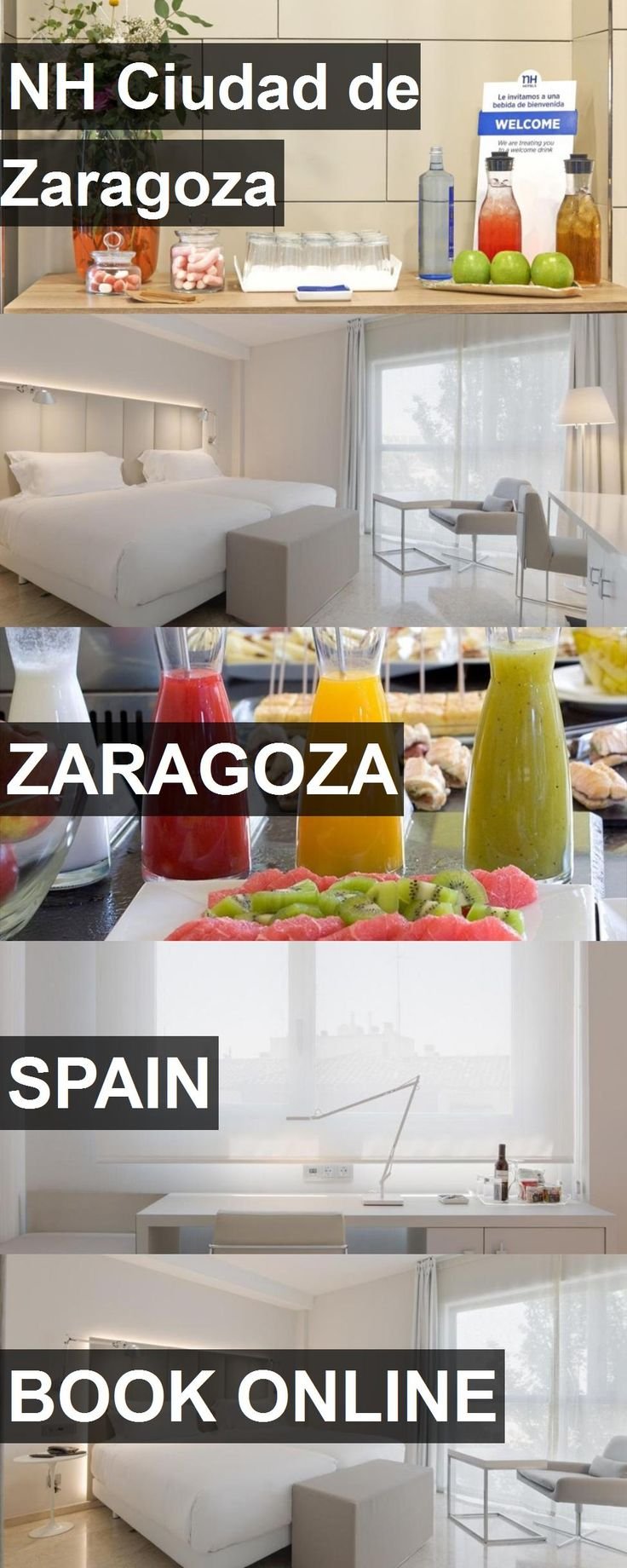 Hotel NH Ciudad de Zaragoza in Zaragoza, Spain. For more information, photos, reviews and best prices please follow the link. #Spain #Zaragoza #travel #vacation #hotel