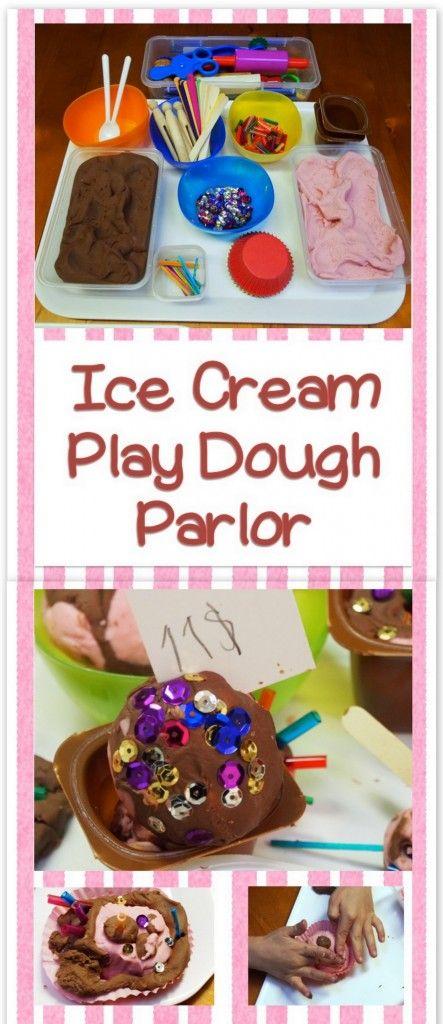 Ice Cream Play Dough Parlor