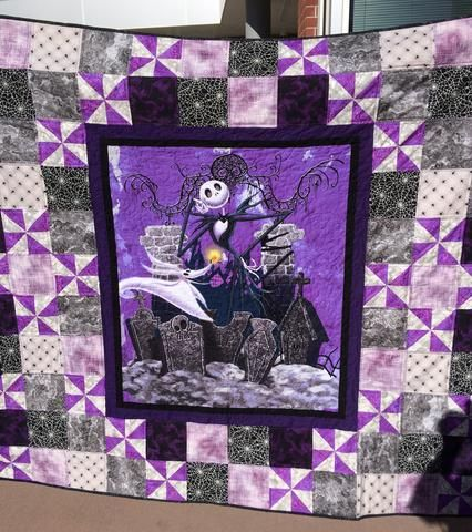 Nightmare Before Christmas quilt for client