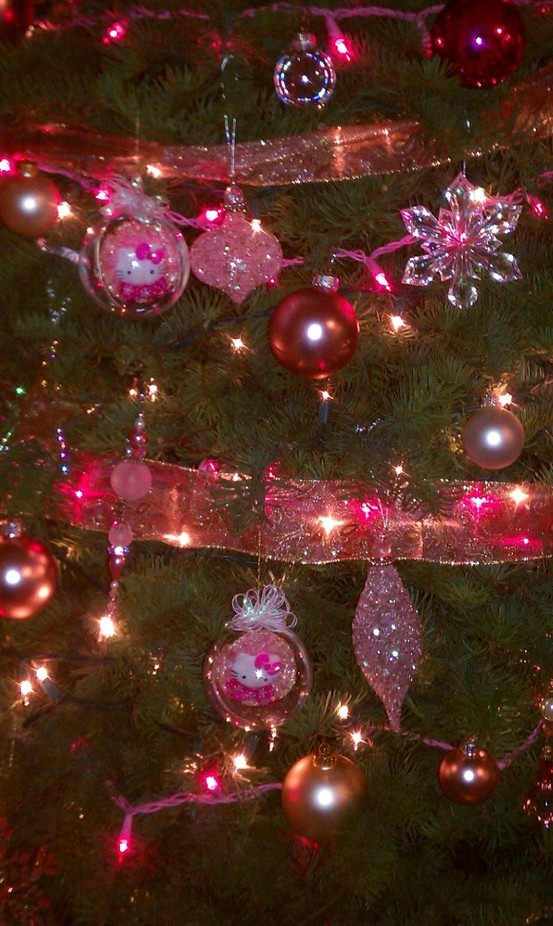 DIY Hello Kitty Christmas Ornaments