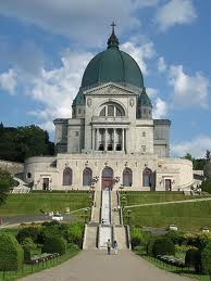 Saint Joseph's Oratory of Mount Royal-   a Basilica located on the slope of Mount Royal in Montreal, Quebec, Canada