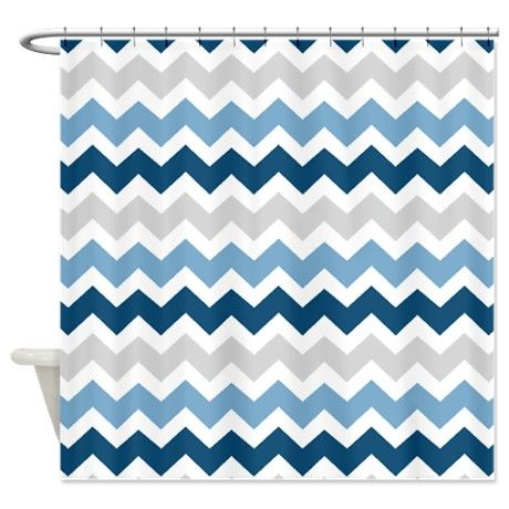 25 Best Ideas About Navy Blue Shower Curtain On Pinterest Nautical Style Wall Cabinets
