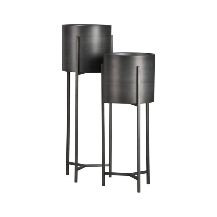 Dundee Tall Plant Stand | Crate and Barrel