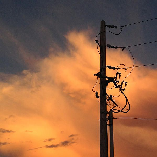 #powerline #energy #clouds #electricalgrid