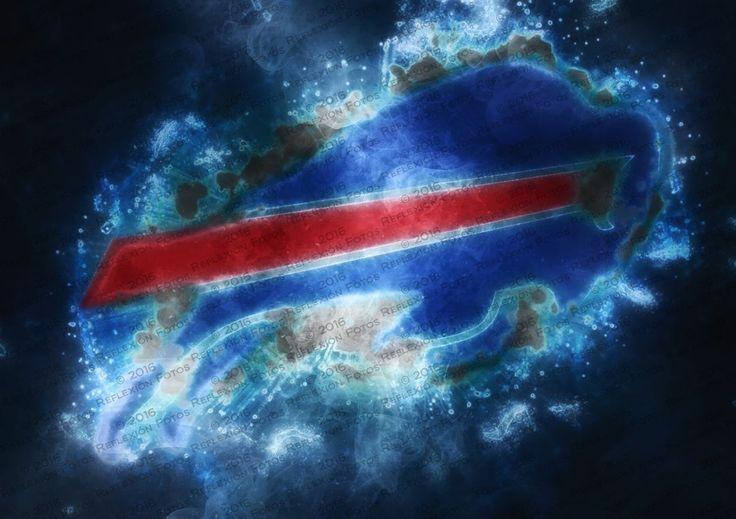 Buffalo Bills styled logo - Reflexión Fotos