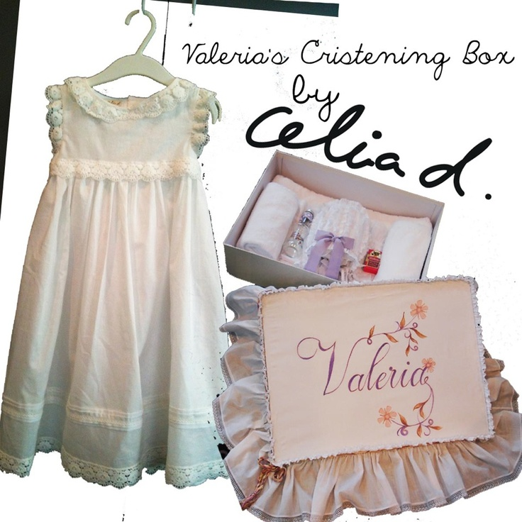 Christening clothes and accessories by Celiad